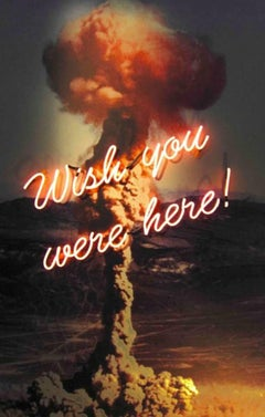 Wish you were here - Neon Artwork