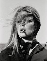 Terry O'Neill - Brigitte Bardot in Spain - Bardot Cigar