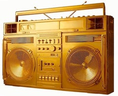 Gold Boombox