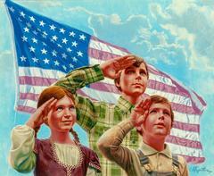 The First Pledge of Allegiance