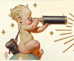 Looks Good for '48, Amoco Advertisement Illustration