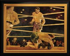 """Joe Louis Knocking Out Max Schmeling"""
