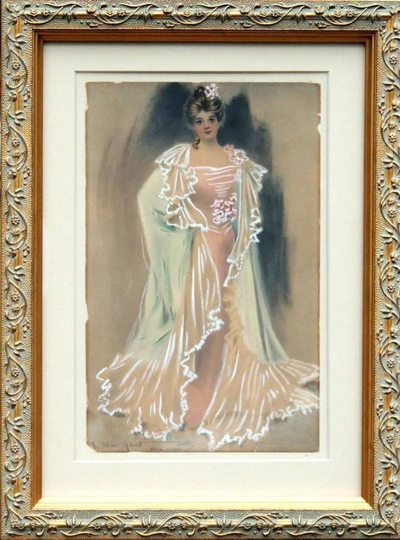 Charles Allan Gilbert Portrait Painting - Standing Woman