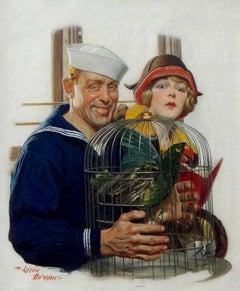 Sailor with Bird Cage