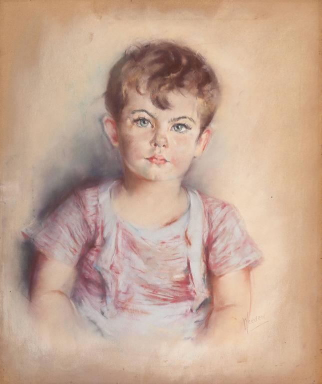 Eleanor Revere Weeden Portrait Painting - Portrait of William Lancaster