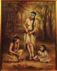Children of the Forest - Calendar Illustration