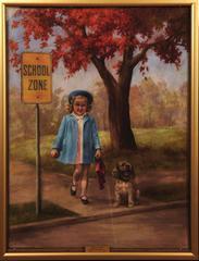 Safely Gaurded - Calendar Illustration