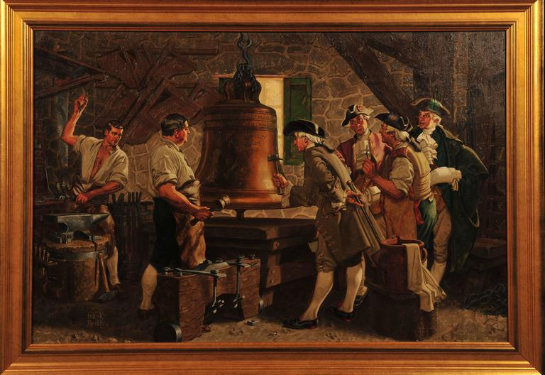 Liberty Bell - Painting by Frank J. Reilly