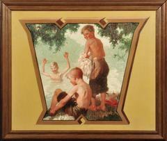 Three Boys at Swimming Hole