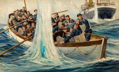 Life Boat at Sea