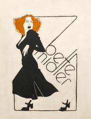 Bette Midler, Original Poster Illustration