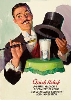 Alka-Seltzer Quick Relief Advertisement Illustration