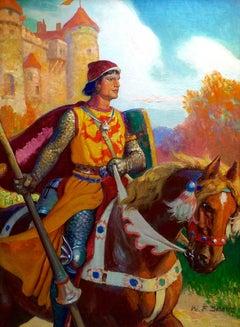 Sir Launcelot, American Boy Cover Illustration