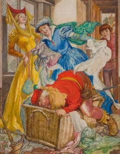 Fairy Tale Story Illustration