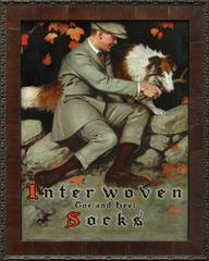 Interwoven Socks Advertisement