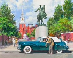 Paul Revere, 1941 Lincoln Continental