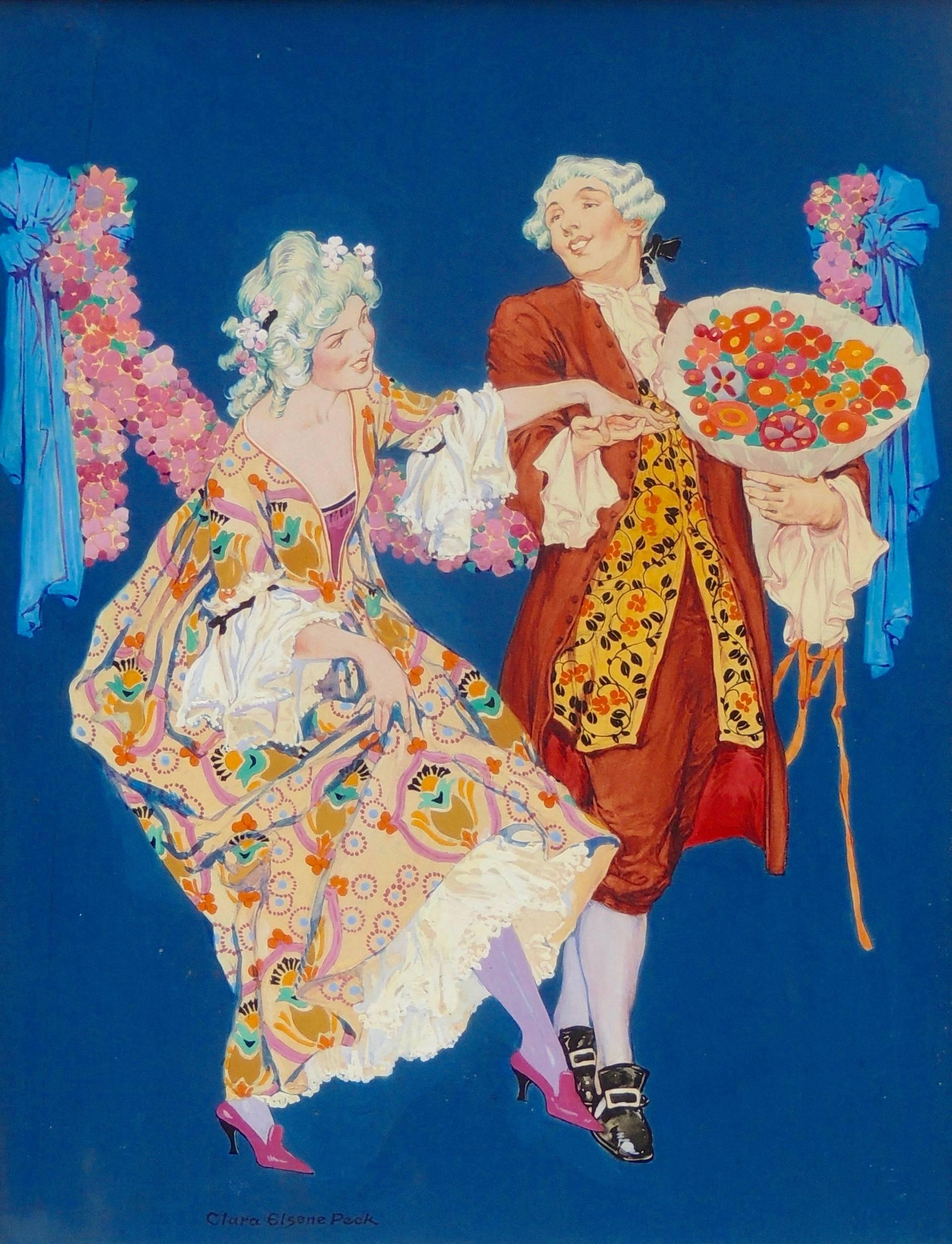 Dancing Couple at the Ball, Theatre Magazine Cover