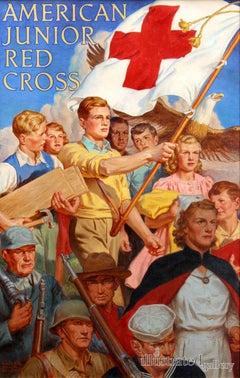 American Junior Red Cross, Poster Illustration