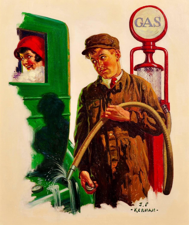 Joseph Francis Kernan Romance At The Gas Pump Magazine