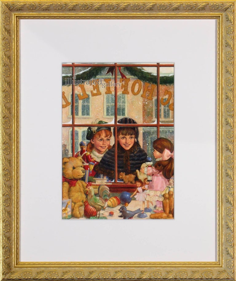 I Love That Nutcracker Doll - Painting by Dan Andreasen