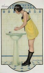 Girl at the Sink