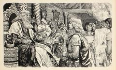 Leif Erikson The Lucky, Book Illustration