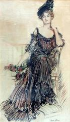 American Beauty Original Illustration