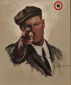 Bulls Eye, Saturday Evening Post Cover