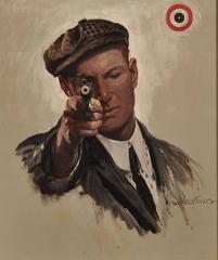 Bulls Eye, Saturday Evening Post Cover