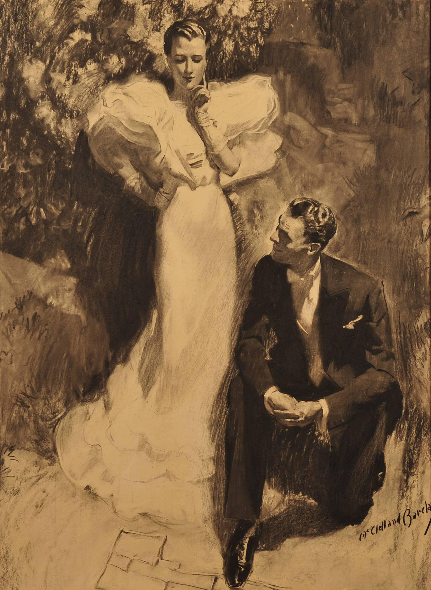 Elegant Couple, Good Housekeeping Illustration