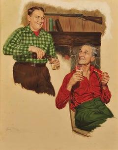 Beer Advertisement, 1950