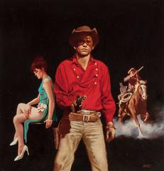 Cowboy Love Story, Paperback Cover