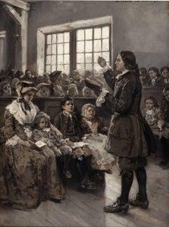 John Wesley Teaching his Sunday School