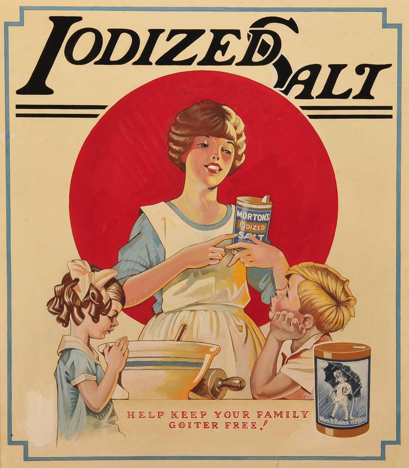 Iodized Salt / Help Keep Your Family Goiter Free