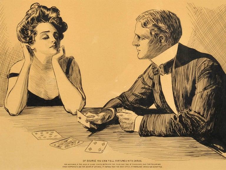 Unknown Figurative Art - Card Game