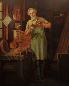 Portrait of a Cabinet Maker