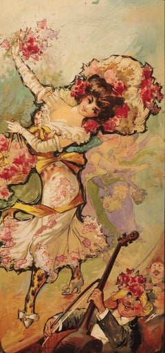 Yankee Doodle Girls, Original Poster Illustration