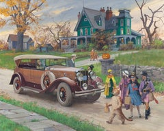 Halloween, 1929 Franklin Sports Car
