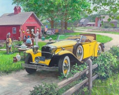 Barn Antiques, 1930 Ruxton, Great Moments in Early American Motoring