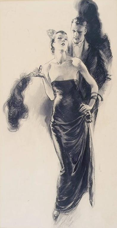 Elegant Woman with Fan