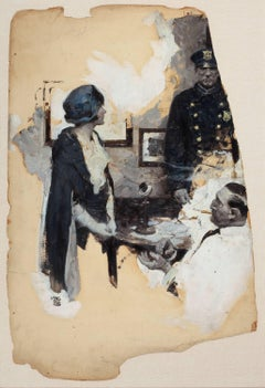 At the Precinct, Story Illustration