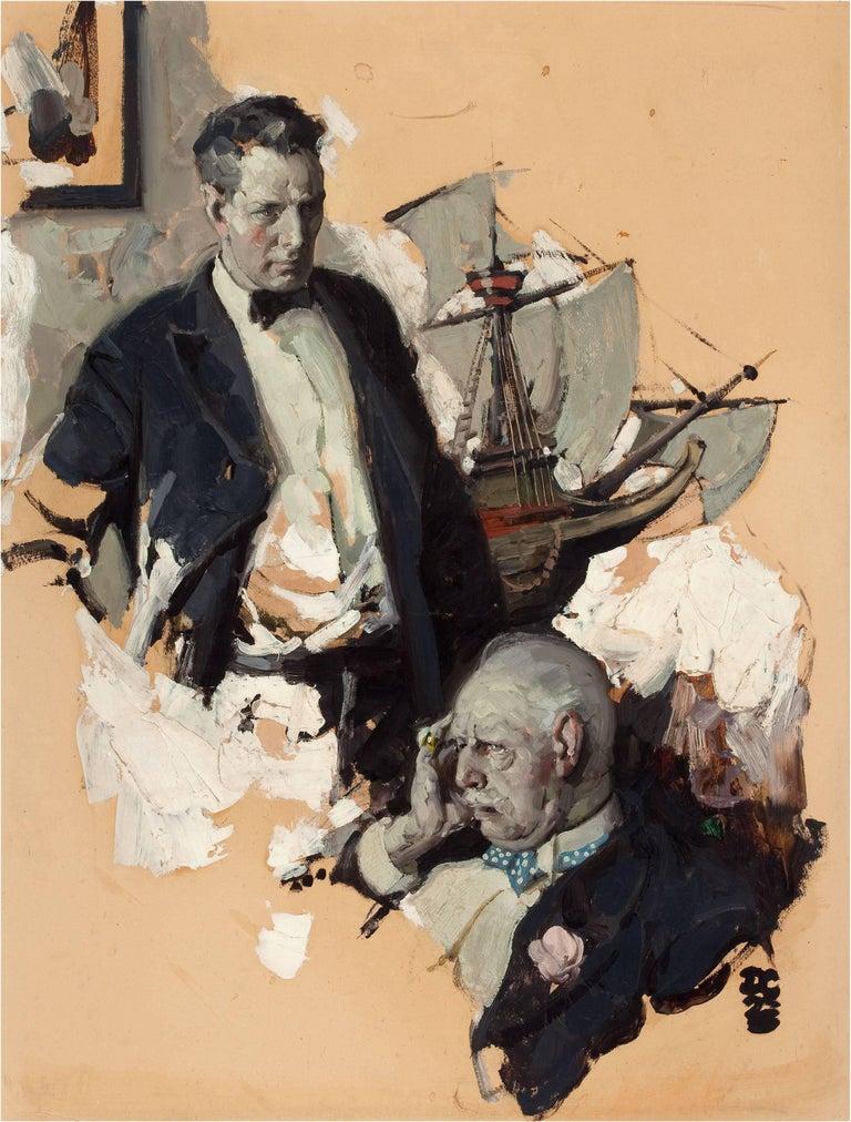 Dean Cornwell Figurative Painting - Woe is Me