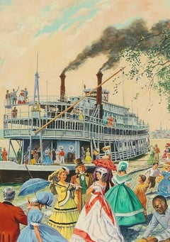 Riverboat Scene