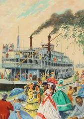 Riverboat Scene