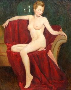 Portrait of a Nude Blonde
