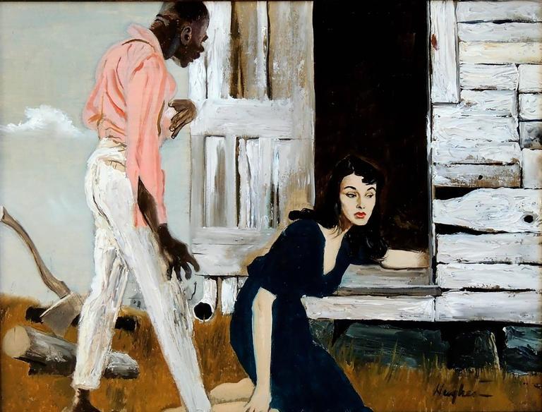 George Hughes Figurative Painting - (Untitled)