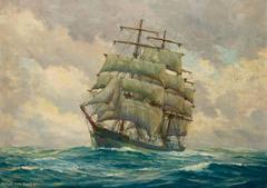 Sailing Ship at Sea