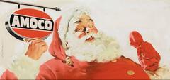 Santa Claus Amoco Advertisement