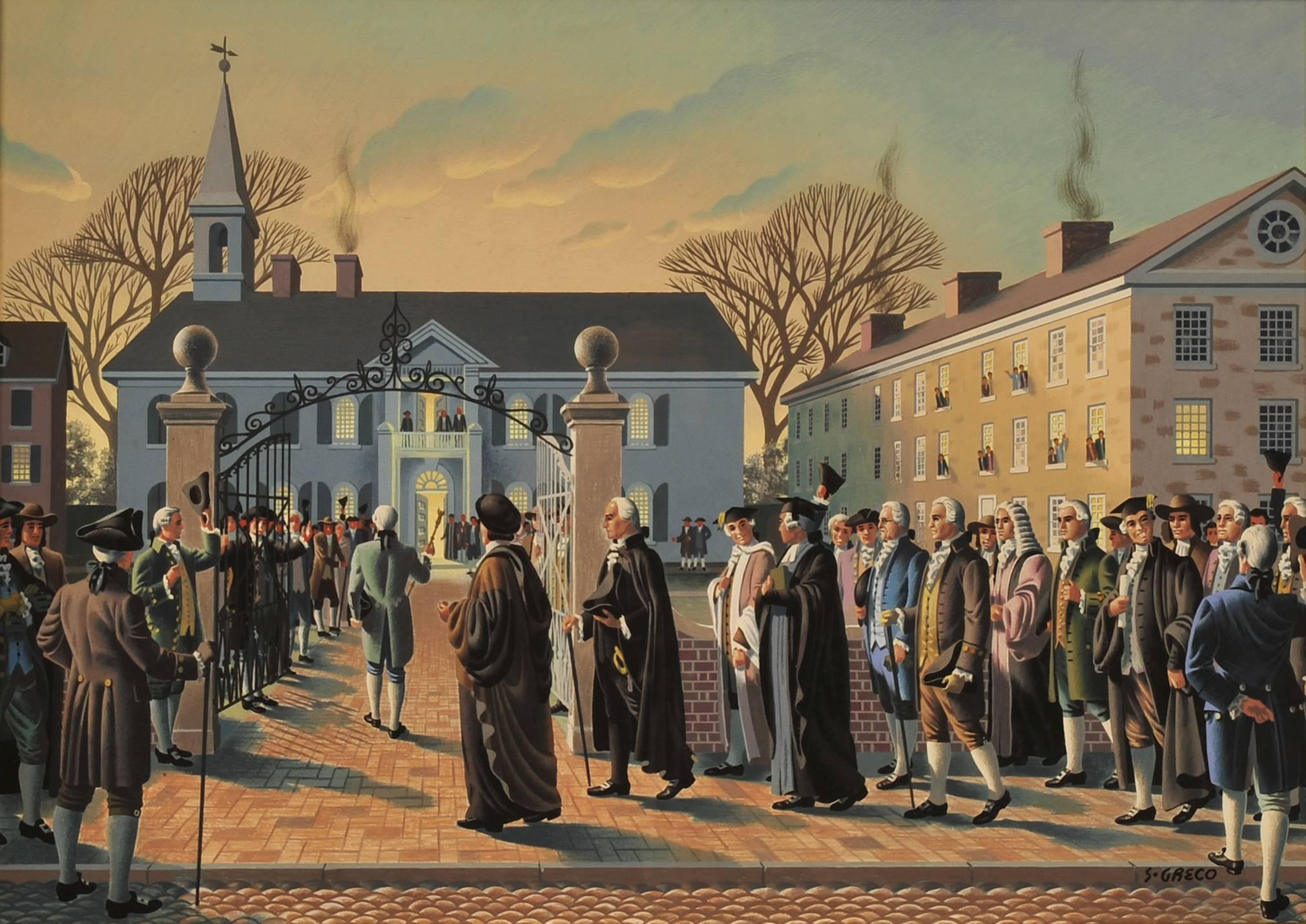 The First American Law School