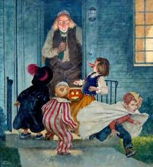 Cover of The Saturday Evening Post, Halloween Edition